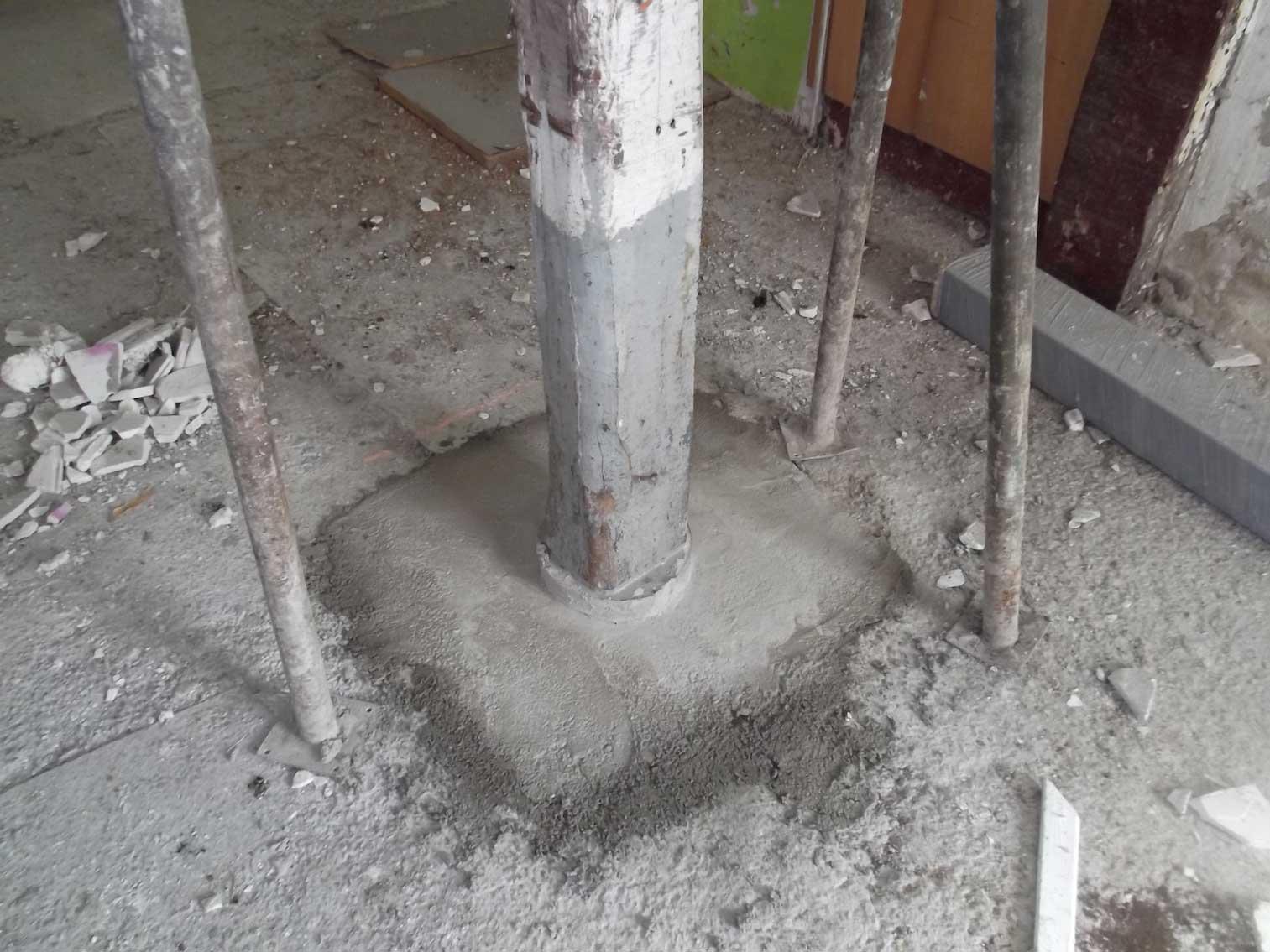 Trabajos Rvive - Refuerzo en estructura en Astigarraga